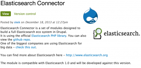 Elasticsearch connector screenshot